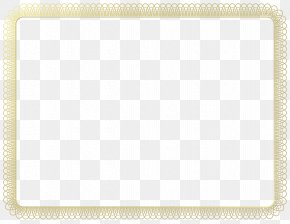 Certificate - Picture Frames Paper Borders And Frames Clip Art PNG