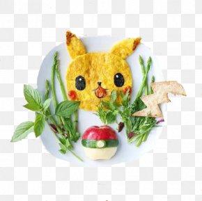 Pokemon - Food Art Breakfast Dish Recipe PNG