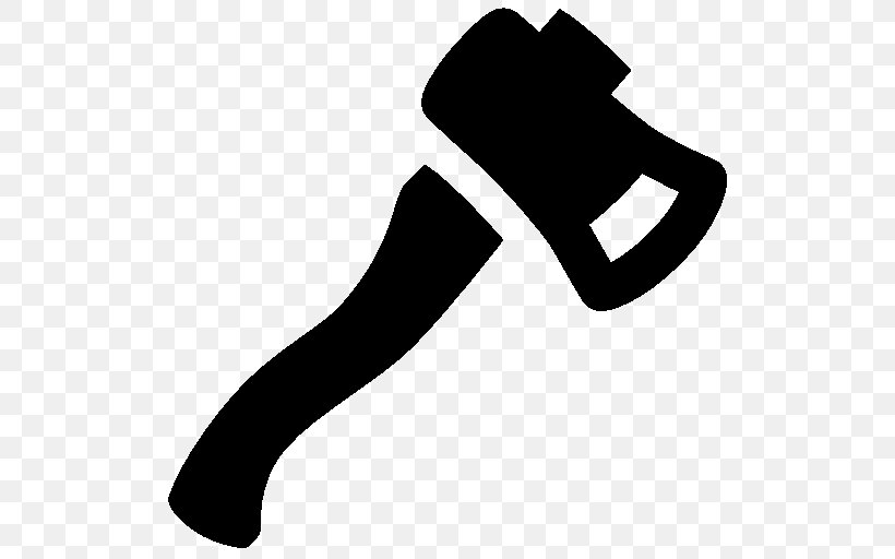 Axe Hatchet Icon Design Symbol, PNG, 512x512px, Axe, Arm, Black, Black And White, Finger Download Free