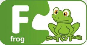 Cartoon Children The English Alphabet O - English Alphabet Letter F PNG