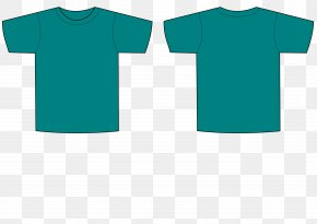 T-shirt - T-shirt Template Red PNG