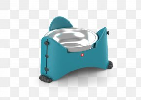 Stainless Steel Cat Dish - Rotho MyPet Adjustable Bowl, 27.3 X 25 X 14.6 Cm, Aqua Mess Kit Dog Stainless Steel PNG