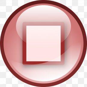 Pause Button - Button Clip Art PNG