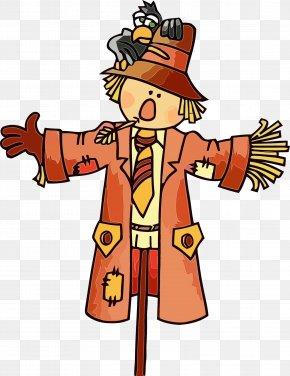 Costume Cartoon - Cartoon Costume Scarecrow PNG