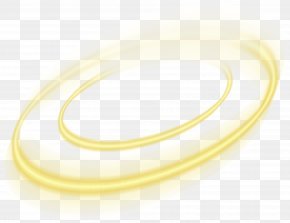 Yellow Circle Light Effect Element - Light Circle Yellow Euclidean Vector PNG