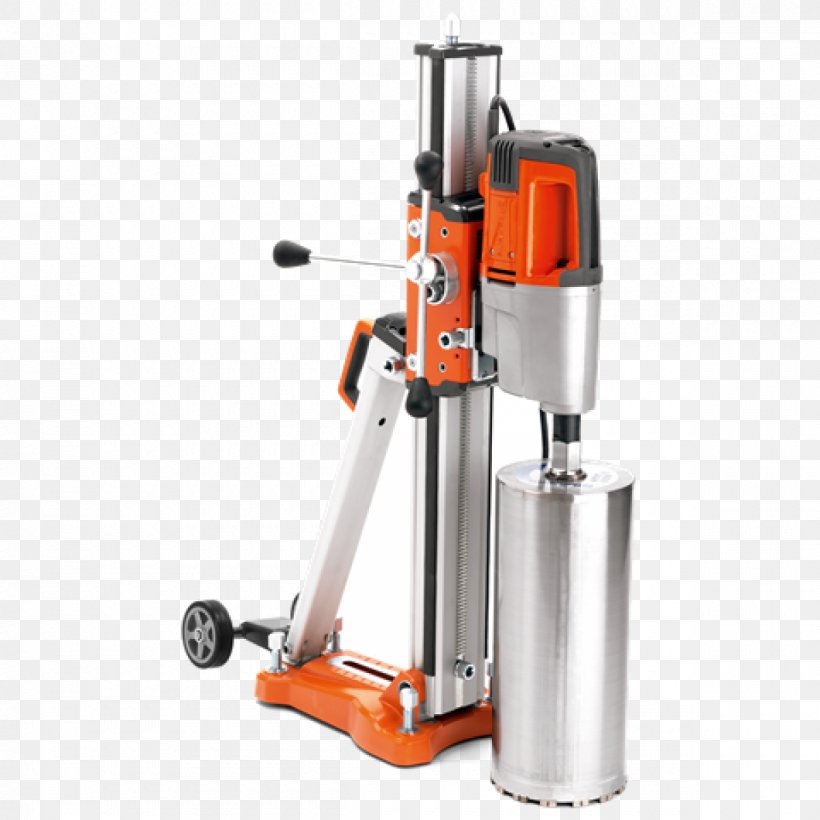 Core Drill Augers Drilling Rig Tool Husqvarna Group, PNG, 1200x1200px, Core Drill, Architectural Engineering, Augers, Boring, Brick Download Free