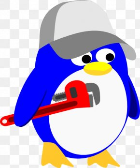 Plumber Cliparts - Penguin Plumbing Plumber Clip Art PNG