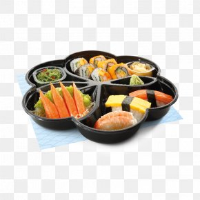 Plate - Japanese Cuisine Bento Plate Sushi Food PNG