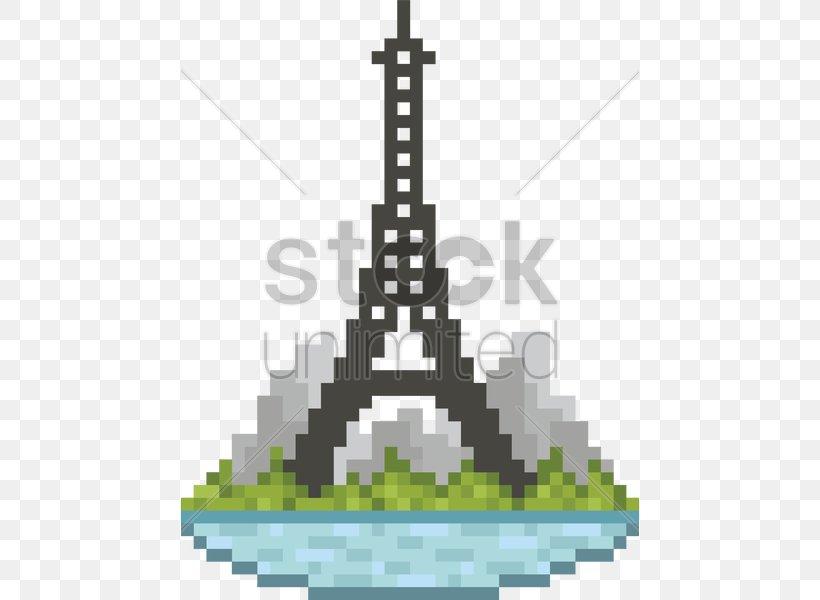 Eiffel Tower Landmark Champ De Mars Pixel Art Png 458x600px 8bit Color Eiffel Tower Art Building