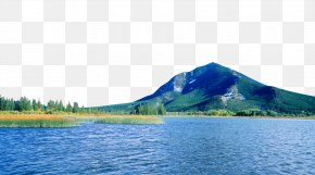 Scenic Mountain Lake Stock - 1080p High-definition Television High-definition Video Wallpaper PNG