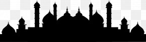 Islamic Mosque Silhouette Vector Material - Istanbul Mosque Islam Clip Art PNG