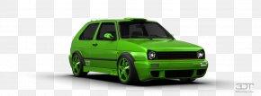 Volkswagen Golf Mk2 - Bumper Volkswagen Golf Compact Car PNG