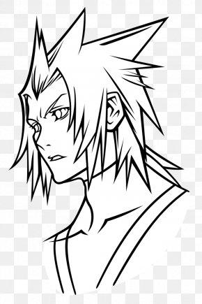 Kingdom Hearts - Kingdom Hearts Birth By Sleep Terra Drawing Aqua Line Art PNG