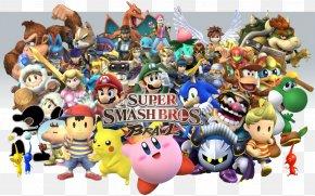 Super Smash Bros. - Super Smash Bros. For Nintendo 3DS And Wii U Super Smash Bros. Brawl Mario Bros. Super Smash Bros. Melee PNG