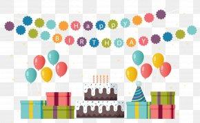 Child Birthday Party - Children's Party Birthday Gift PNG