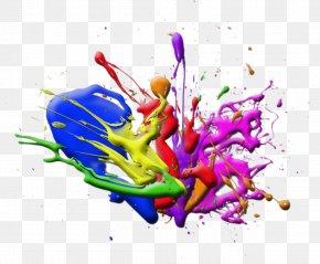 Paint Splash - Paint Desktop Wallpaper Clip Art PNG