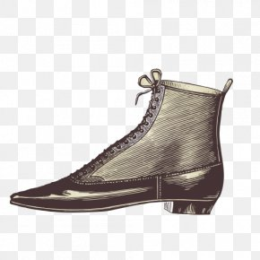 Artwork Shoes - Nostalgia Shoe Illustration PNG