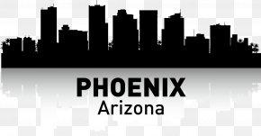 PHOENIX - Phoenix Skyline Poster Printmaking PNG