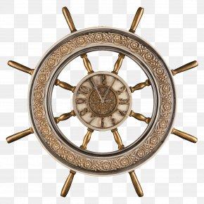 Steering Wheel - Ship's Wheel Ship Model Boat PNG
