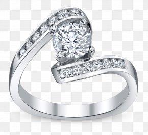 Wedding Ring - Wedding Ring Jewellery Engagement Ring Bride PNG