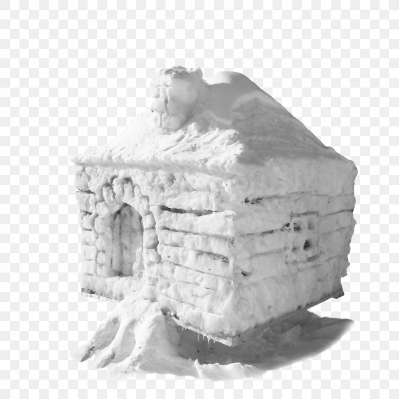 Igloo Snow White, PNG, 1024x1024px, Igloo, Black And White, Dream Snow, House, Ice Download Free