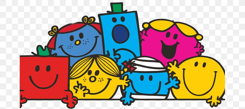 Mr. Men Book Smiley Mrs. Clip Art, PNG, 687x366px, Mr Men, Area ...