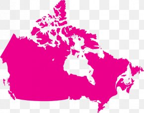 Canada United States Vector Map, PNG, 640x350px, Canada ...