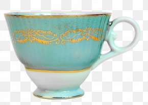 Cup Mint - Tea Coffee Cup Glass Mint Saucer PNG