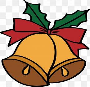 Cartoon Christmas Bells - Bell Christmas Cartoon Drawing PNG