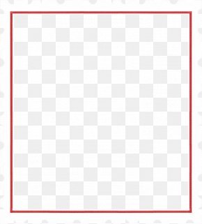 Simple Line Border - Square Area Angle Pattern PNG