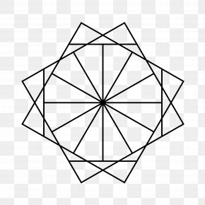 Star - Star Polygon Dodecagon Inscribed Figure Point PNG
