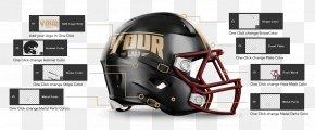 Sports Uniform Muckup - American Football Helmets Kansas City Chiefs NFL Mockup PNG