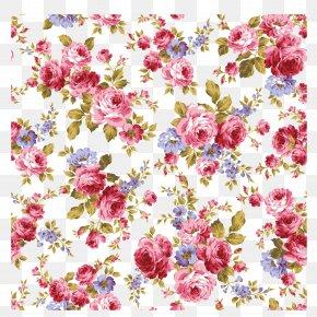 Vector Pattern Material Bottom Pattern Flower Texture - Flower Floral Design Stock Illustration Pattern PNG