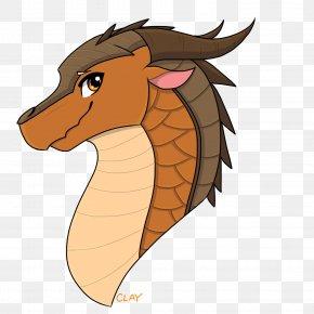 Dragon - Drawing Wings Of Fire Clay Fan Art Dragon PNG