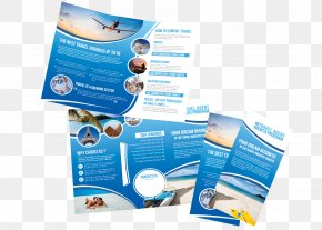 Trifold Flyer - Advertising Brand Water PNG