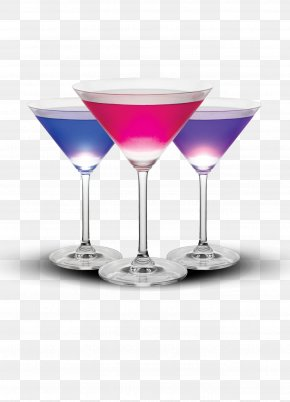 Wineglass - Martini Cocktail Pink Lady Cosmopolitan Wine Glass PNG