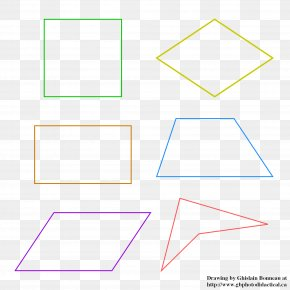 Geometric Shapes - Paper Rectangle Square Area PNG
