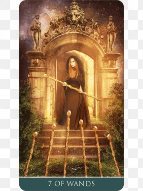 Thelema - Tarot Suit Of Wands Thelema King Of Wands Playing Card PNG