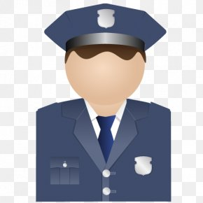 Policeman Uniform - Business Gentleman Recruiter Profession Job PNG