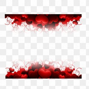 Hearts Border - Wallpaper PNG