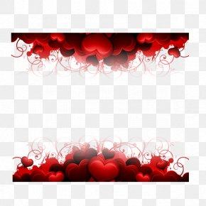 Hearts Border - Wallpaper PNG