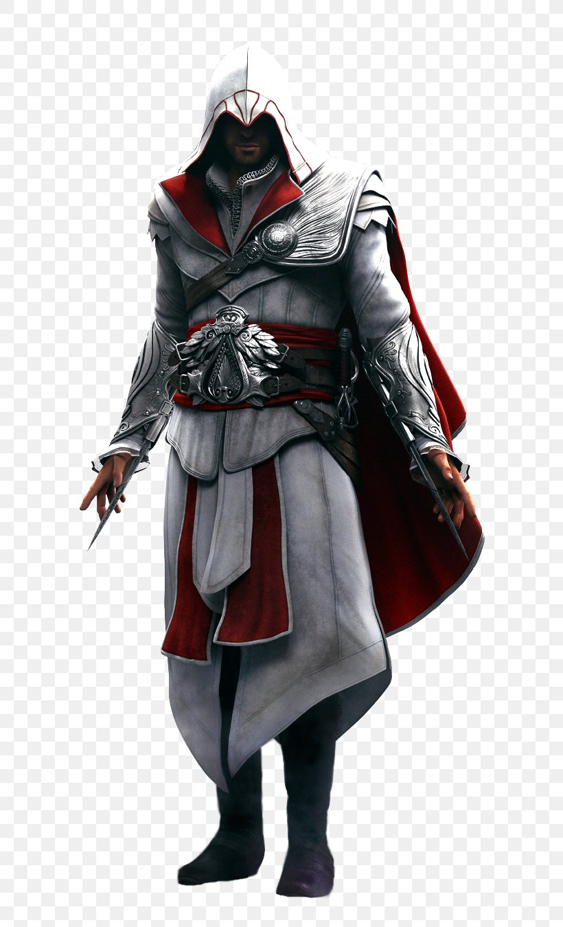Assassins Creed II Assassins Creed: Brotherhood Assassins Creed: Revelations Assassins Creed: Altaxefrs Chronicles, PNG, 650x1350px, Assassins Creed Ii, Altaxefr Ibnlaahad, Armour, Assassins, Assassins Creed Download Free