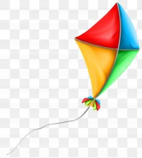 Colorful Kite Clip Art Image - Kite Santa Claus Clip Art PNG