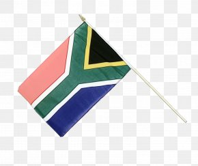 Africa Flag Of South Africa - Flag Cartoon PNG