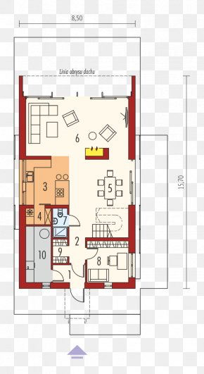 House - House Floor Plan Gable Roof Building Project PNG