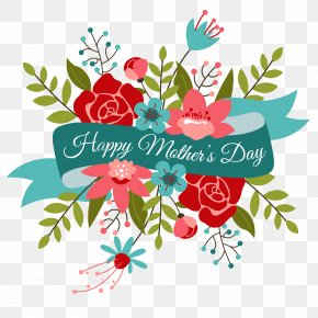 Mother's Day PNG Transparent Images - Mothers Day Flower Bouquet Valentines Day Clip Art PNG