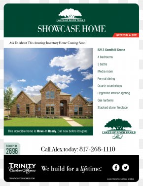 Strategy Flyer - Trinity Custom Homes Property Brand PNG