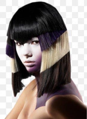 Hair - Bangs Hair Coloring Long Hair Hairstyle PNG
