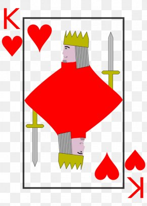 King - Playing Card King Ace Queen Spades PNG