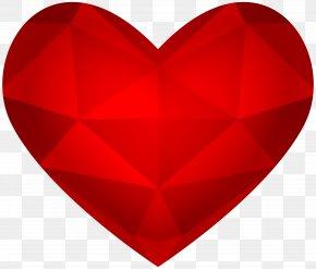 Heart Transparent Image - Red Heart Design Pattern PNG
